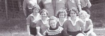 Handbal SVDB Dames-1 1959