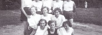 Handbal SVDB Dames-1 1950