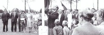 Opening sportterrein 1962