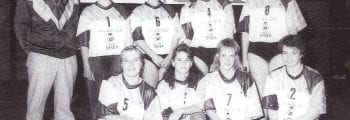 Volleybal SVDB dames-1 1990