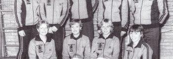 Volleybal SVDB dames-1 1980