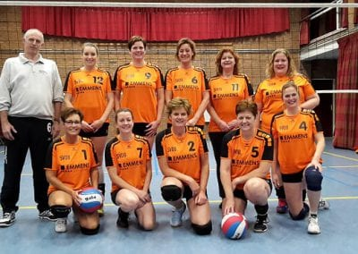 Volleybal dames 1 2017